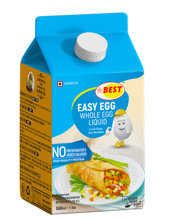 Whole Egg Liquid | SKM Best Eggs