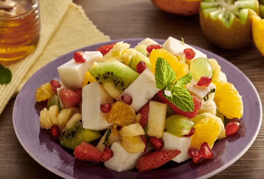 Egg white fruit salad 2-min