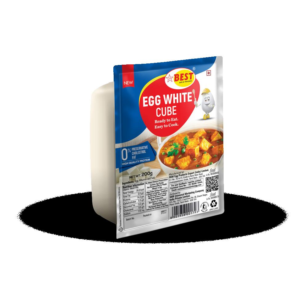 EGG WHITE CUBE - SALT - 200G