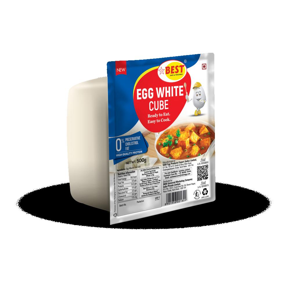 EGG WHITE CUBE - SALT - 500G