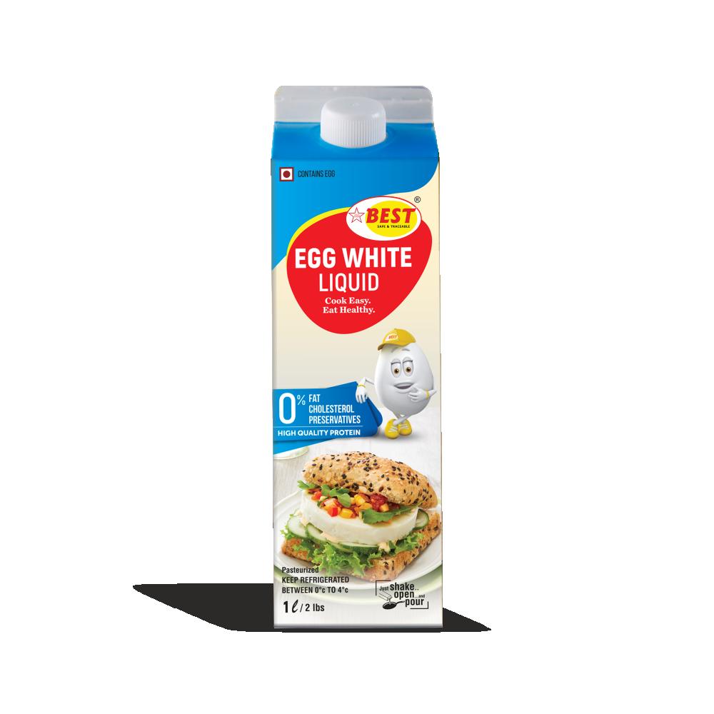 EGG WHITE LIQUID - 1LTR