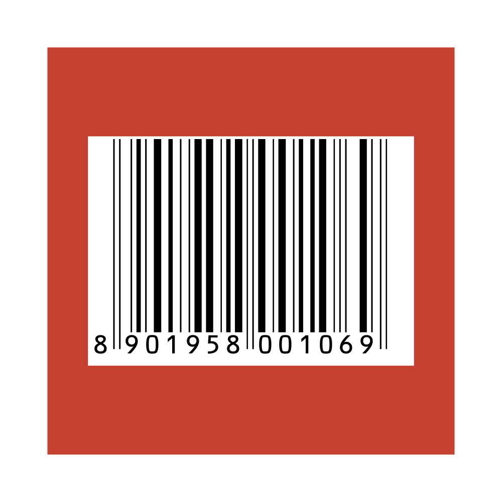 Brown 6 - Barcode